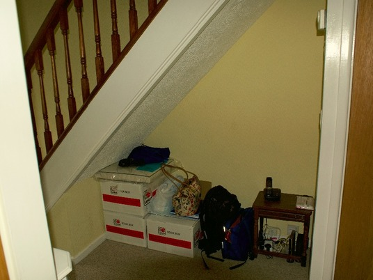 Before picture of Under Stairs Interior Design Solihull