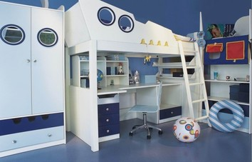 Childs Interior Designed Bedroom