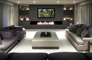 Living Room Interior Design Warwick