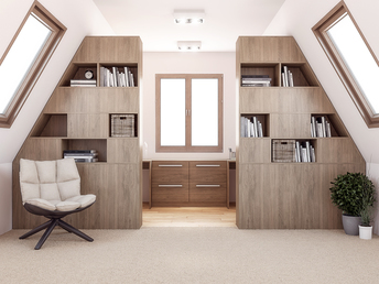 Home Office makeover in Warwickshire
