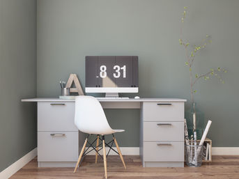 Home office design in Banbury