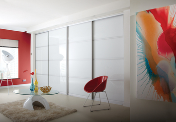 Modern Sliding Bedroom Doors in Leamington Spa