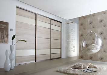 Chess Effect Sliding Bedroom Doors in Warwick