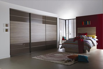 Bedroom Bespoke Sliding Doors in Warwick