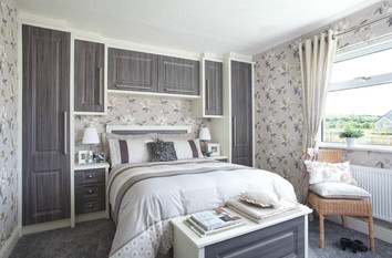 Grey and White renewed Bedroom furntiture in Warwick